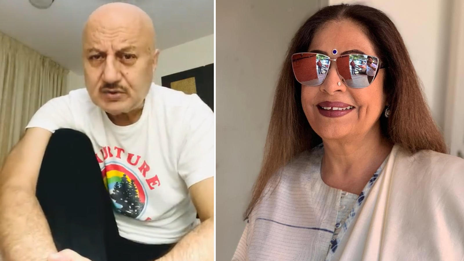 Anupam Kher shares wife Kirron Kher's health update: 'She is on her way to better health. It's a tough treatment'   Hindi Movie News – Bollywood – Times of India
