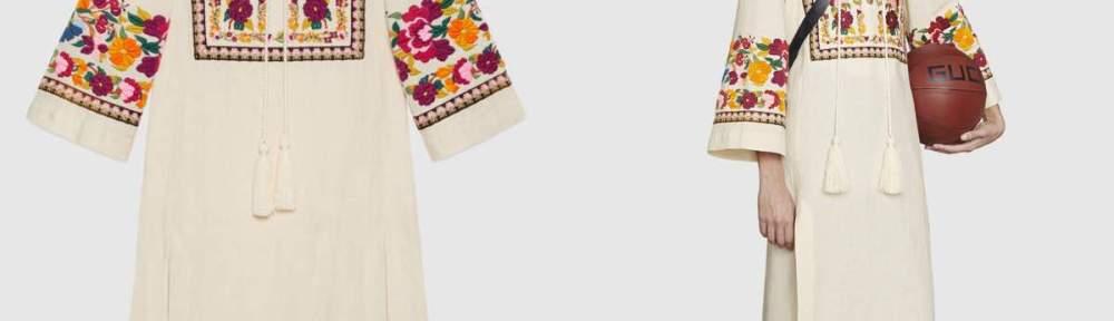 Gucci selling kaftans inspired by desi kurtas