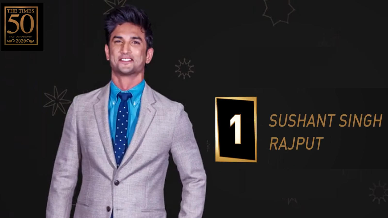 Sushant Singh Rajput tops this year's list of the Times Most Desirable Men 2020   Hindi Movie News – Bollywood – Times of India
