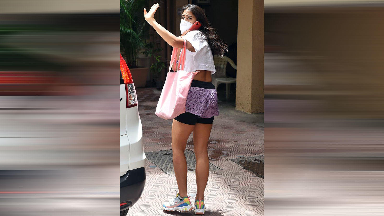 It's gym time! Sara Ali Khan was papped outside her gym in Mumbai | Hindi Movie News – Bollywood – Times of India