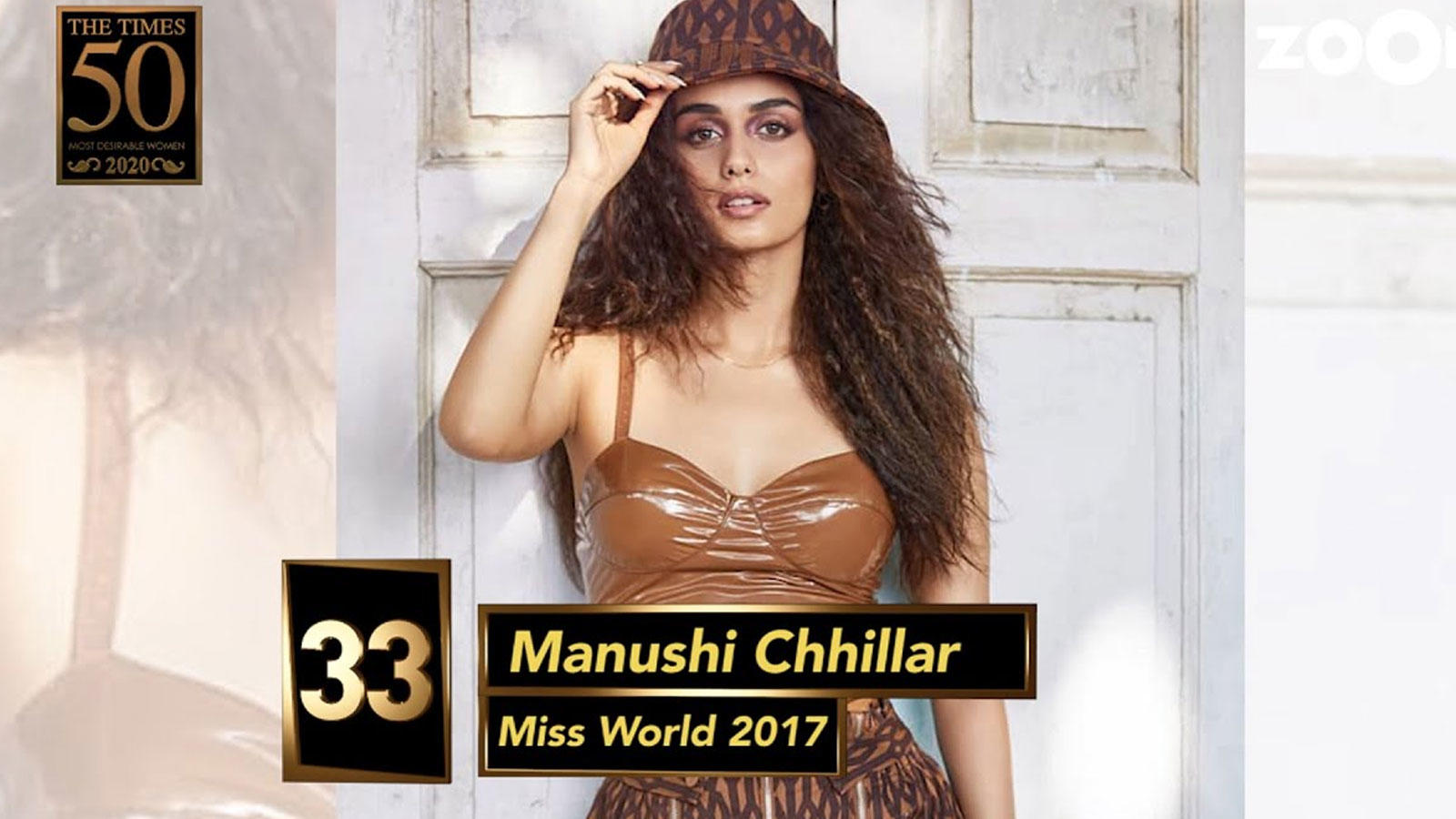 Miss World 2017 Manushi Chhillar gets the number 33 spot on Times Most Desirable Women 2020 | Hindi Movie News – Bollywood – Times of India