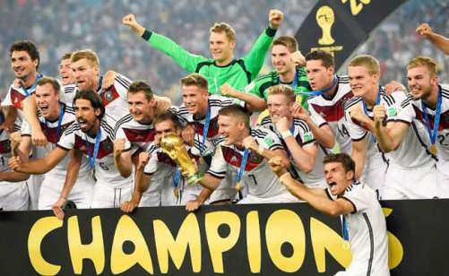 Image result for germany win world cup