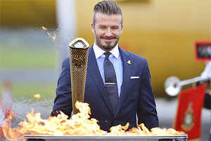 Olympic flame arrives in Britain for 2012 torch relay