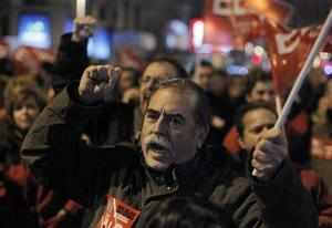 Strikes, protests hit much of European Union