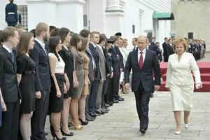 Russian President Putin, wife announce divorce