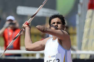 Jhajharia wins first-ever gold in Para Athletics Worlds