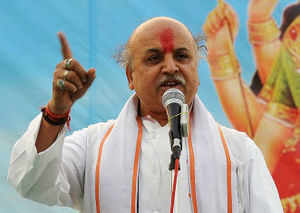 Evict Muslims from Hindu areas: Pravin Togadia