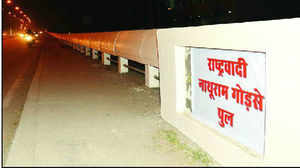Alwar flyover was about to be named after Godse