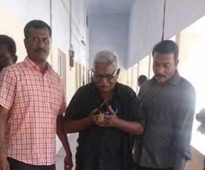 Sivalingam (middle) (TOI pic by Shanmughasundaram J)
