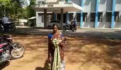 With no mortuary or government support, villagers have been waiting for the release of Hurre's husband Hunga, presently lodged in Dantewada jail, for the cremation.