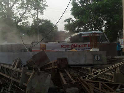 At least 19 killed as under-construction flyover collapses in Varanasi