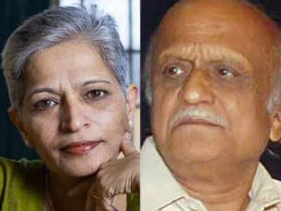 Kalburgi was shot dead in his house on August 30, 2015, in Dharwad and 55-year old Lankesh on September 5, 2017 in Bengaluru.