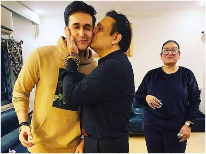 Govinda's son Yashvardhan Ahuja meets with a car accident; the actor reveals he suffered a few injuries on his arms