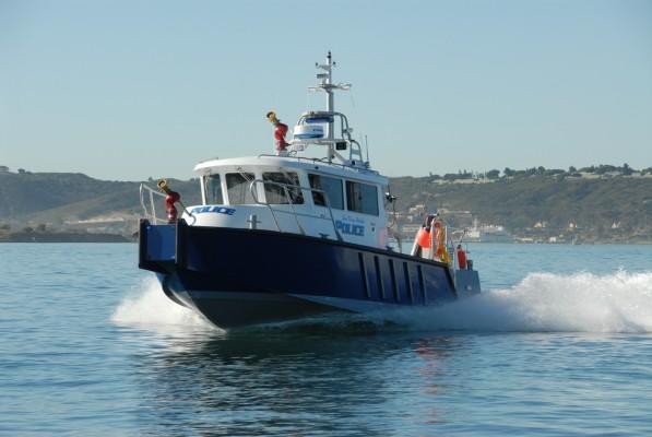 San Diego Harbor Police boat
