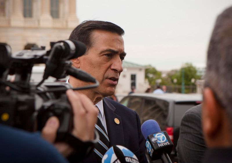 Rep. Darrell Issa speaks to reporters
