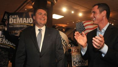 Republican Carl DeMaio beat a bevy of other Republicans to make November runoff. Photo by Chris Stone