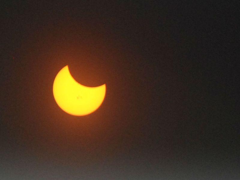 Partial Solar Eclipse in San Diego