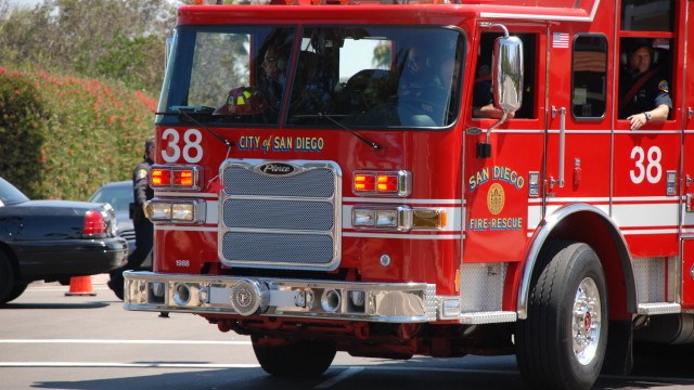 San Diego Fire-Rescue vehicle