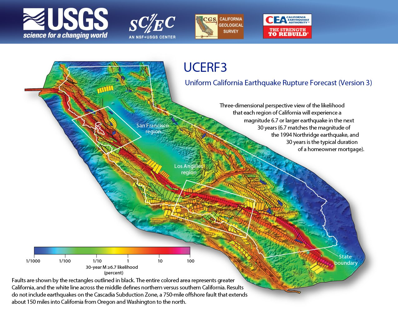 Usgs Chance Of Big One Hitting Socal Increases