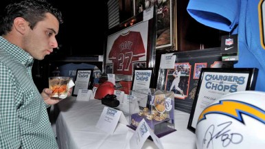 The Melvin Ingram fund-raiser included a live and silent auction.