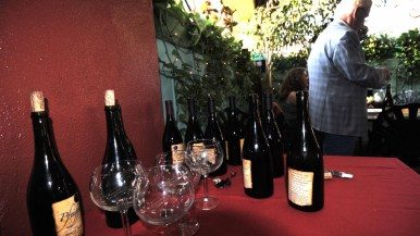 Pfeiffer's wines, set out at Press Club event, were served at President Obama's pre-inaugural dinner.