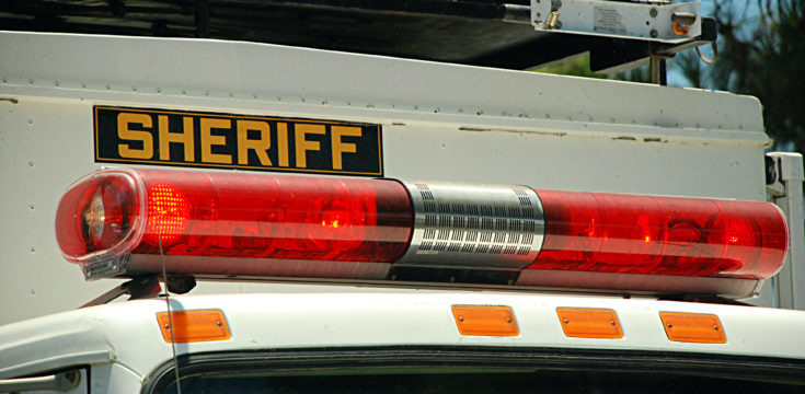San Diego Sheriff's vehicle