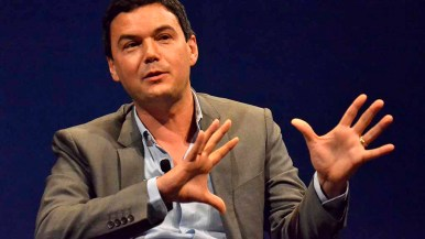 Thomas Piketty said people should learn from history when it comes to income distribution. Photo by Ken Stone