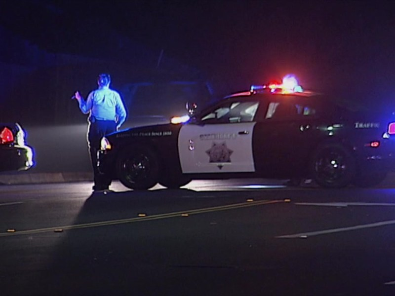 CHP officer at accident