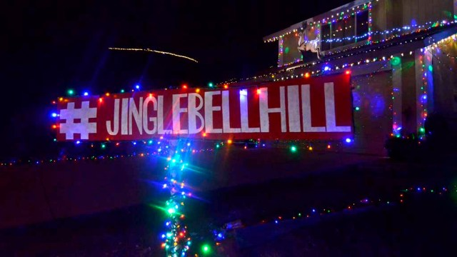 Jingle Bell Hill is at Pepper Drive, Solomon Avenue, Pegeen Place and surrounding streets in El Cajon. Photo by Chris Stone