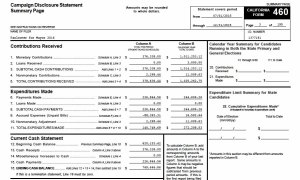 Mayor Kevin Faulconer's campaign finance report for second half of 2015. (PDF)