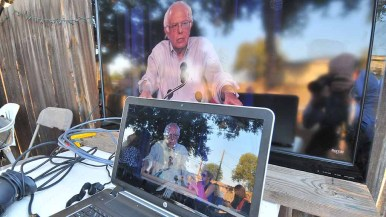 """Bernie Sanders announced: """"I will not be directing or controlling this revolution"""" as he returns to the Senate. Photo by Ken Stone"""