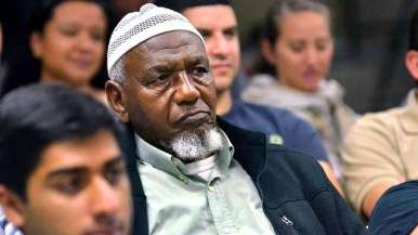 Audience members listen attentively at Islamic Center of San Diego's debate watch event. Photo by Chris Stone