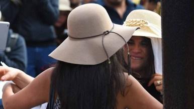Ramona Vargas (right) greets her daughter, Delia Valdovinos-Sanchez. Photo by Chris Stone