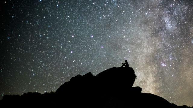 Desert stargazing