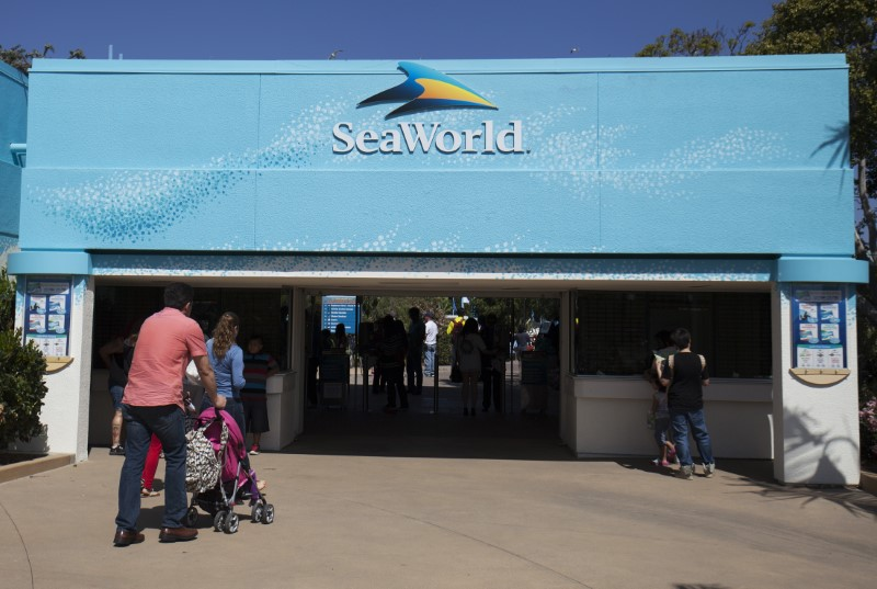 Entrance to SeaWorld San Diego