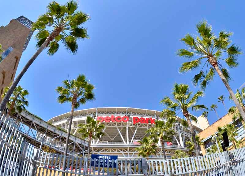 Petco Park in downtown San Diego. Photo by Chris Stone