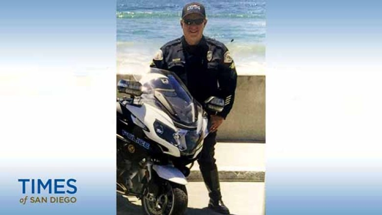 Brad Hunter of Oceanside Police Department.