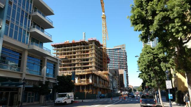 Condominiums under construction
