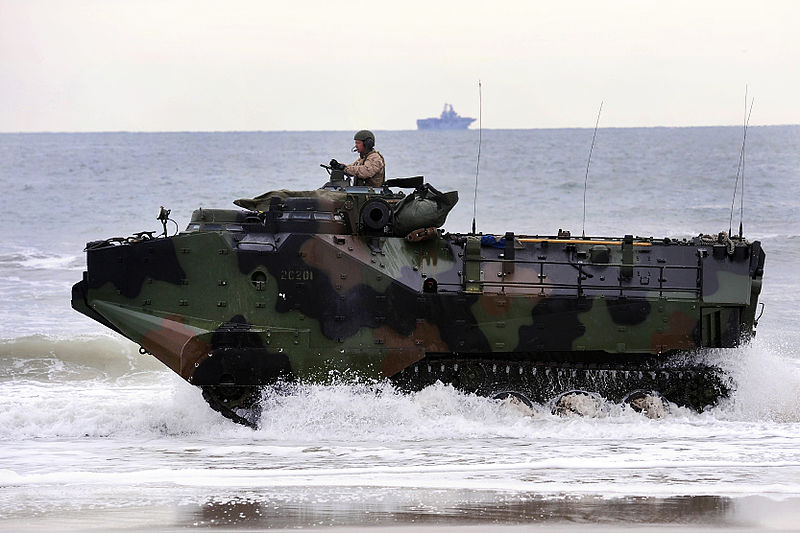 Marine Corps amphibious assault vehicle