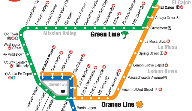 Orange Line trolley