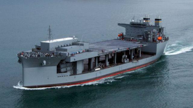 Expeditionary sea base