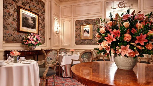 Westgate Hotel dining room