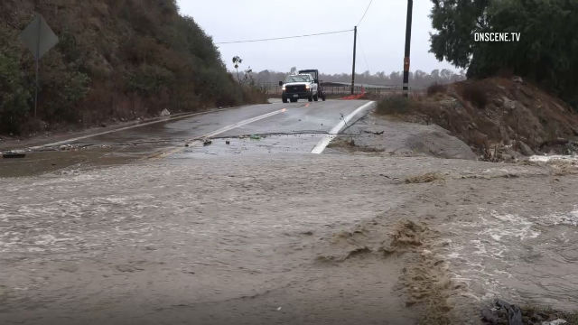 Tijuana River Valley flooding