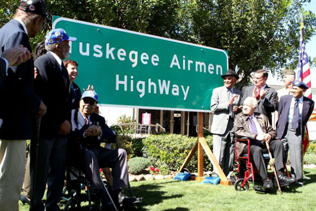 Tuskegee Airmen Sign