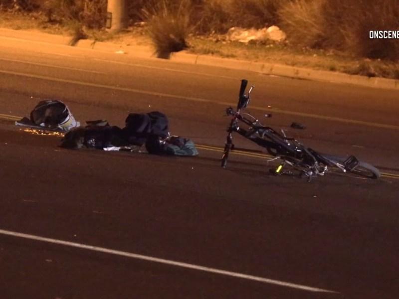 fatal bicycle crash