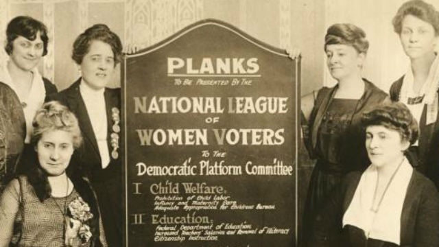 Women's political club