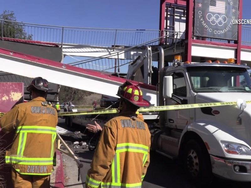 pedestrian bridge collapse