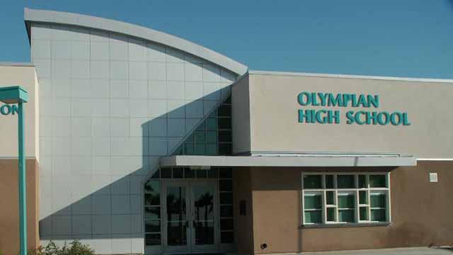 Olympian High School in Chula Vista.