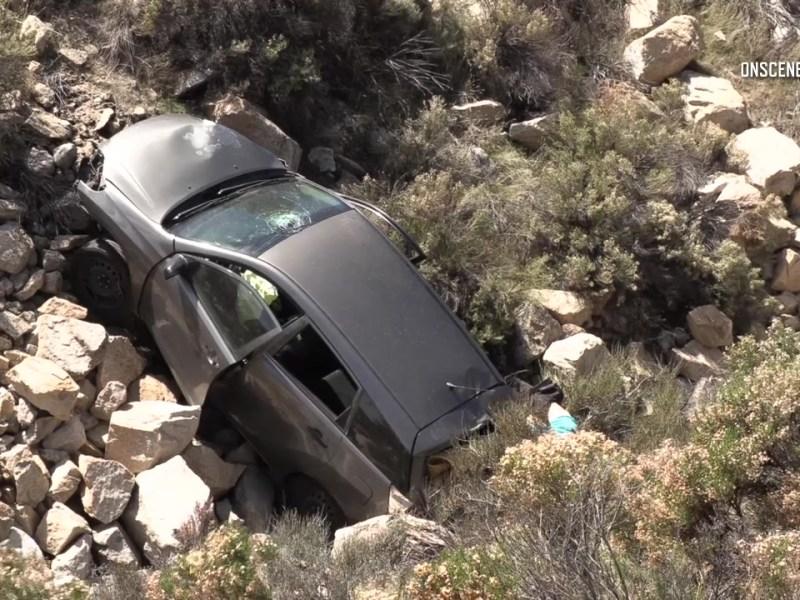 gray car crash