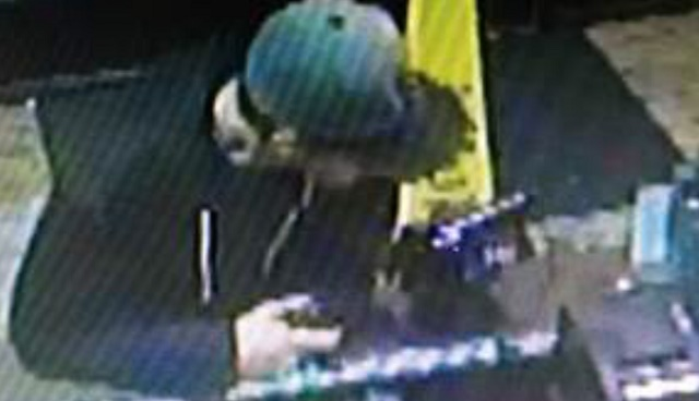Denny's armed robbery suspect
